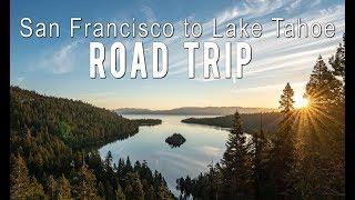 Download San Francisco to Lake Tahoe Road Trip Stops Video
