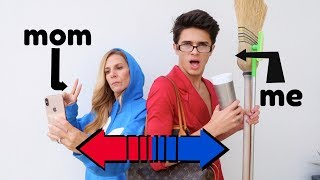 Download SWITCHING LIVES WITH MY MOM! | Brent Rivera Video