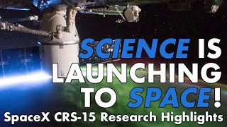 Download Highlights of Science Launching on SpaceX CRS-15 Video