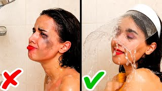 Download 27 GENIUS BEAUTY TRICKS TO SAVE YOU THE TROUBLE || Shower Tips and Makeup Secrets for Girls! Video