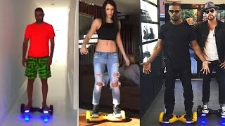 Download Celebrity on New Mini HoverBoard Electric Skateboarding Monorover R2 'Hoverboard' Video