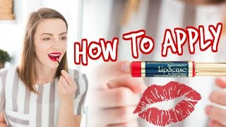 Download HOW TO APPLY LIPSENSE (beginner tips and tricks!) Video