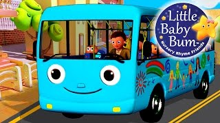 Download Wheels On The Bus | Part 4 | Nursery Rhymes | from LittleBabyBum! Video