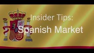 Download Insider Tips Spanish Market   Barbara Wood Tourism Ireland Madrid Office Spain Video