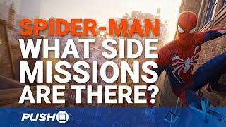 Download Marvel's Spider-Man PS4: What Side-Missions Are There to Do?   PlayStation 4   PS4 Pro Gameplay Video
