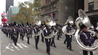 Download Thanksgiving Day Parade~NYC~2016~Hendrickson Hawk Marching Band~NYCParadelife Video