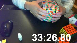 Download 11x11x11 Rubik's Cube Solving (55m:19.47s) Video