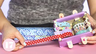 Download How to Make a DIY Washi Tape Dispenser | Plan With Me Video
