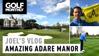 Download Joel's Vlog #10 | Adare Manor + New Course Record! | Golf Monthly Video