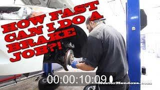 Download How fast can I do a Brake Job!?! Video