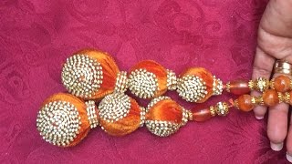 Download LATKANS FOR SAREE BLOUSE/D-I-Y SAREE TASSELS Video