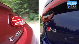 Download 2017 Audi S4 vs. C43 AMG - SOUND-Battle (60FPS) Video