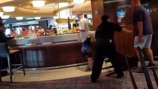 Download GUY TAKES A PUNCH ON CRUISE SHIP Video