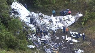 Download The soccer world faces tragedy after Brazilian team' plane crash Video