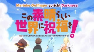 Download KONOSUBA Synchronclip #4: Marieke Oeffinger spricht Darkness Video