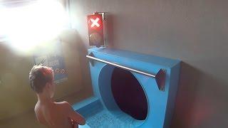 Download Danger Hole Water Slide at Aqualand Moravia Video