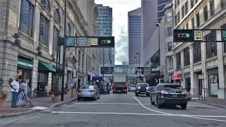 Download Driving Downtown - Cincinnati's Main Street 4K - USA Video