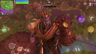Download THANOS IN FORTNITE! (Infinity gauntlet fortnite iOS gameplay) *VICTORY ROYALE* Video