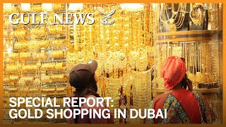 Download Gold shopping in Dubai Video