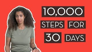 Download 10,000 Steps For 30 Days – Our Weight Loss Results! Video