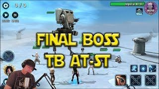 Download Star Wars: Galaxy Of Heroes - Last Stage Final Boss Territory Battles AT-ST Video