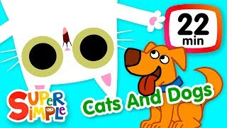 Download The Super Simple Show - Cats And Dogs | Kids Songs & Cartoons About Pets Video