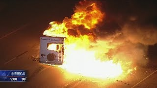 Download Kidnapping, chase comes to fiery end on I-30 Video