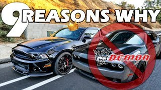 Download Shelby Super Snake VS Dodge Demon | THE CLEAR CHOICE! Video