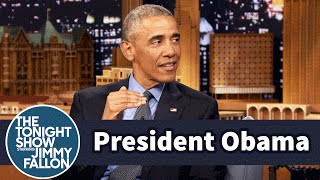 Download President Obama and Jimmy Had an Awkward First Meeting Video