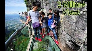 Download China Glass Bridge Funny 2017 Video