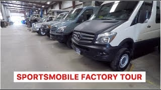 Download Sportsmobile factory tour - 4x4 camper vans - overland adventure vehicles Video