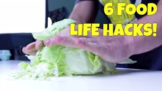 Download 6 AWESOME Food Life Hacks You Should Try! Video
