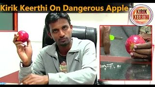 Download Kirik Keerthi on Dangerous apple...! Video