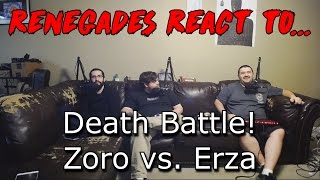 Download Renegades React to... Death Battle! Zoro vs. Erza Video