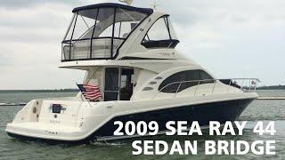 Download 2009 Sea Ray 44 Sedan Bridge For Sale at MarineMax Dallas Yacht Center Video