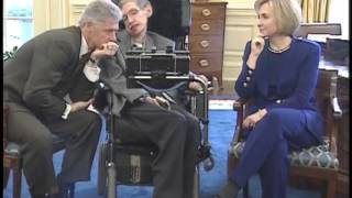 Download Stephen Hawking at the White House with President Clinton Video