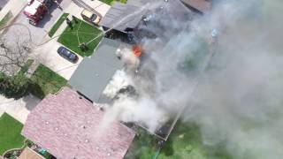 Download Orland Fire District - House Fire 9200 Block of 162nd St Video