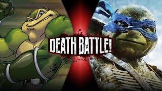 Download DEATH BATTLE! - Zitz VS Leonardo (Battletoads VS Ninja Turtles) | DEATH BATTLE! Video