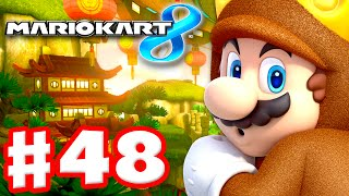 Download Mario Kart 8 - Gameplay Part 48 - 100cc Egg Cup and Triforce Cup DLC (Nintendo Wii U Walkthrough) Video