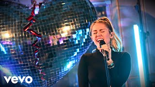 Download Mark Ronson, Miley Cyrus - No Tears Left To Cry (Ariana Grande cover) in the Live Lounge Video