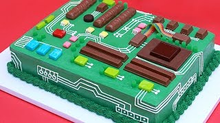 Download HOW TO MAKE A MOTHERBOARD CAKE - NERDY NUMMIES Video