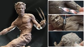 Download Sculpting Timelapse - Logan (Wolverine) Video