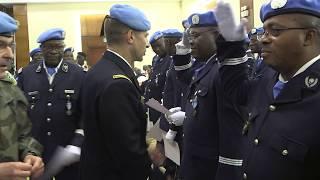 Download Les casques bleus ivoiriens ont reçu la médaille de l'ONU Video