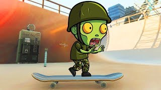 Download SKATE PARK ZOMBIES CHALLENGE! (Call of Duty Zombies Skate Map Mod) Video