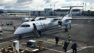 Download Flybe Bombardier Dash-8 Q400 Glasgow to Birmingham *Full Flight* Video