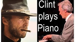 Download Clint Eastwood playing piano - rare recordings - 2 piano blues Video