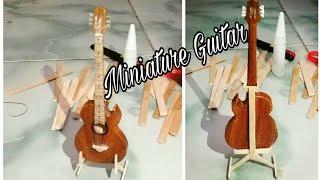 Download Membuat miniatur gitar dari stik es krim Video