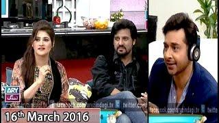 Download Salam Zindagi - Guest: John Rambo & Sahiba Afzal - 16th March 2016 Video