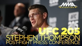 Download UFC 205 Post-Fight Press Conference: Chris Weidman, Stephen Thompson Video