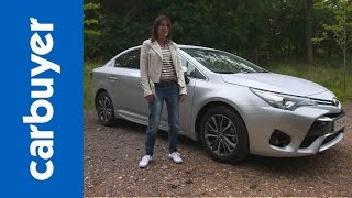 Download Toyota Avensis review - Carbuyer Video